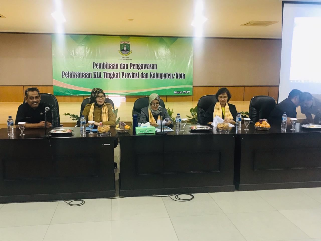 Pembinaan dan Pengawasan untuk mewujudkan Lebak menjadi Kabupaten Layak Anak (KLA)