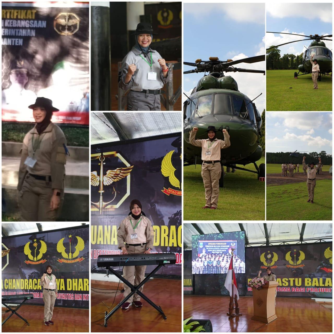 Latihan pemantapan nilai kebangsaan dan soliditas aparatur pemerintahan eselon 2 dan 3 Provinsi Banten yang berkarakter di Grup 1 Kopassus