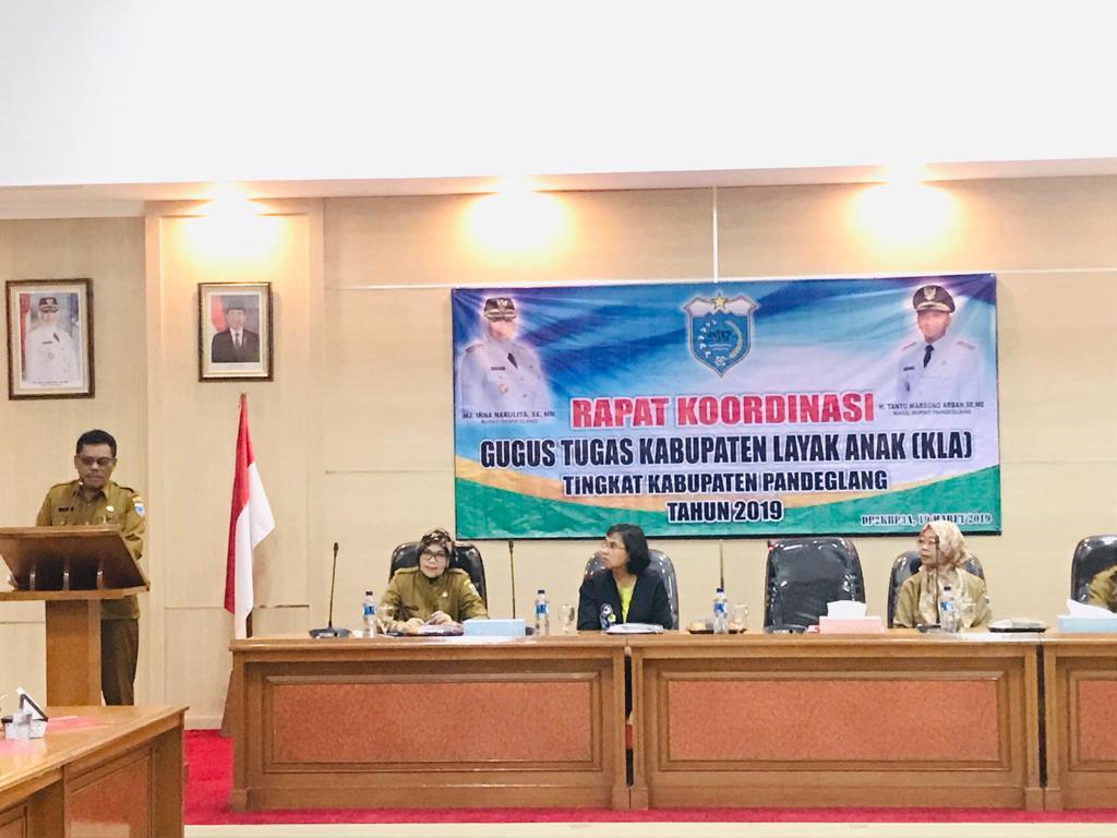 Pembinaan untuk mewujudkan Pandeglang menuju Kabupaten Layak Anak (KLA)