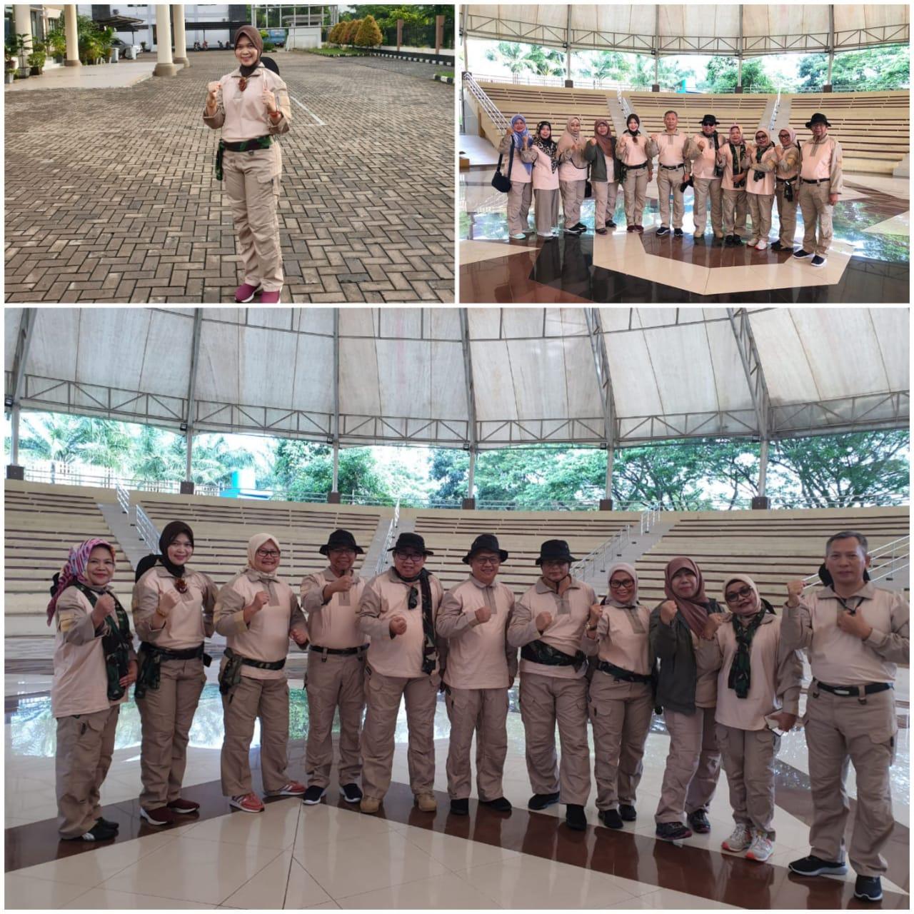Pemantapan Nilai Kebangsaan dan Soliditas Aparatur Pemerintahan Eselon 2 dan 3 Provinsi Banten yang Berkarakter di Grup 1 Kopassus