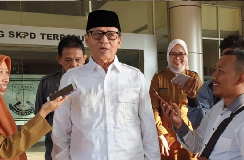 Gubernur Banten, Bapak Dr. H. Wahidin Halim, M.Si Memberikan Tausiah di Kantor DP3AKKB