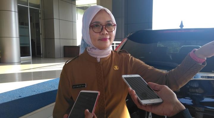 Kepala Dinas Pemberdayaan Perempuan, Perlindungan Anak, Kependudukan dan Keluarga Berencana (DP3AKKB) Banten, Siti Ma'ani Nina.(Den)