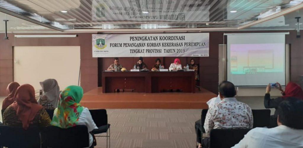 Peningkatan Koordinasi Forum Penanganan Korban Kekerasan Perempuan Tingkat Prov Banten