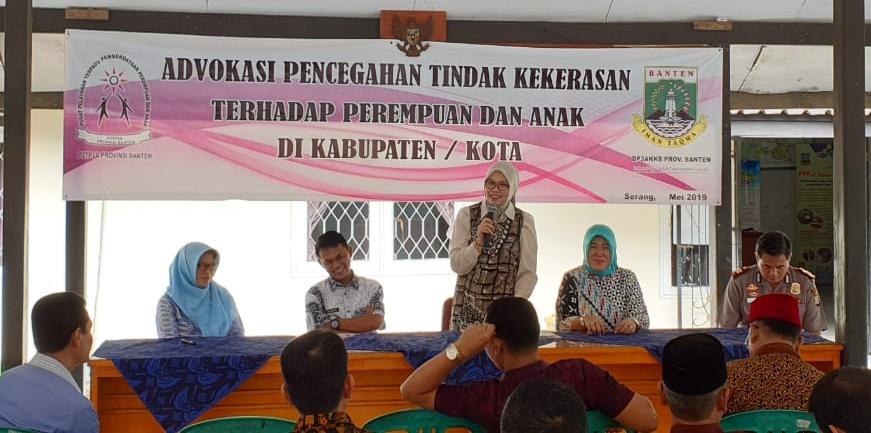 advokasi-pencegahan thp perempuan dan anak di kasemen serang