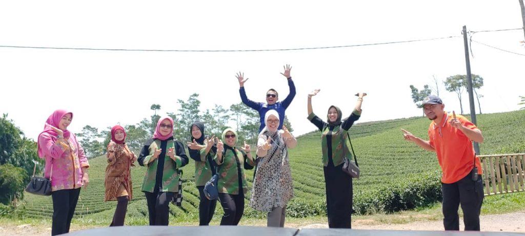 Kebun Teh Cikuya Harendong Kabupaten Lebak Provinsi Banten