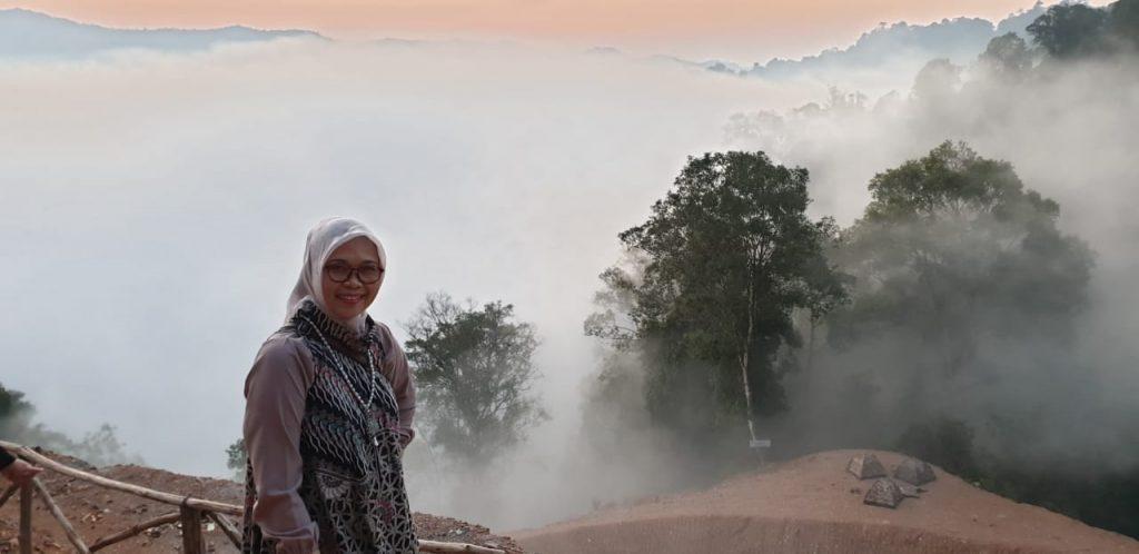 Peletakan Batu Pertama Pembangunan Masjid Rahmatam Lil'alamin Citorek