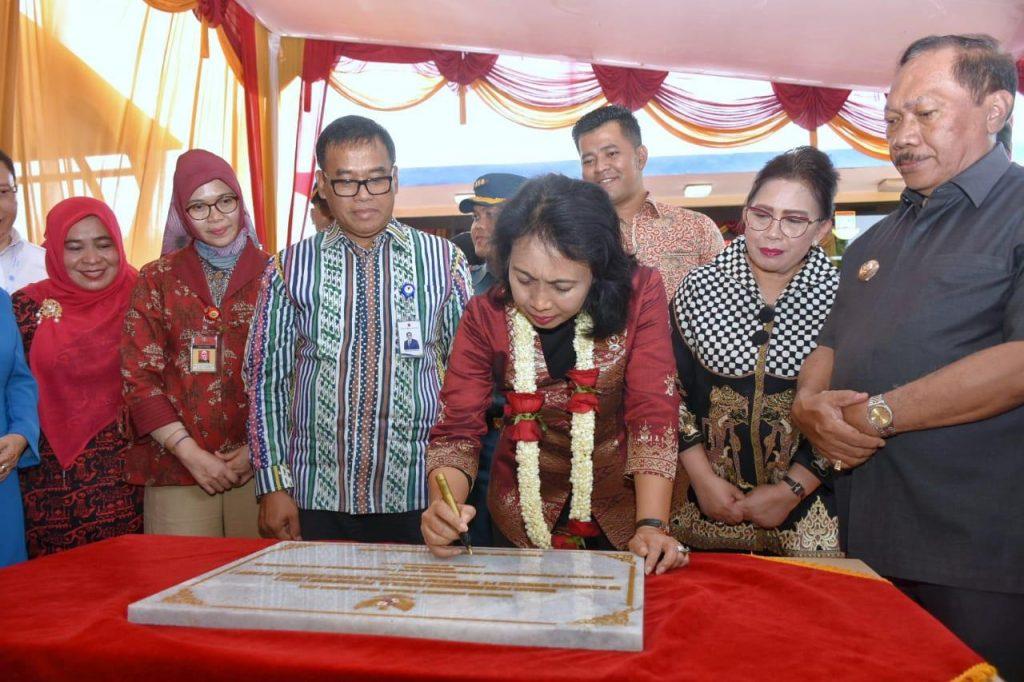 Peresmian Rumah Perlindungan Pekerja Perempuan (RP3) di Kawasan Industri PT KIEC Cilegon Provinsi Banten