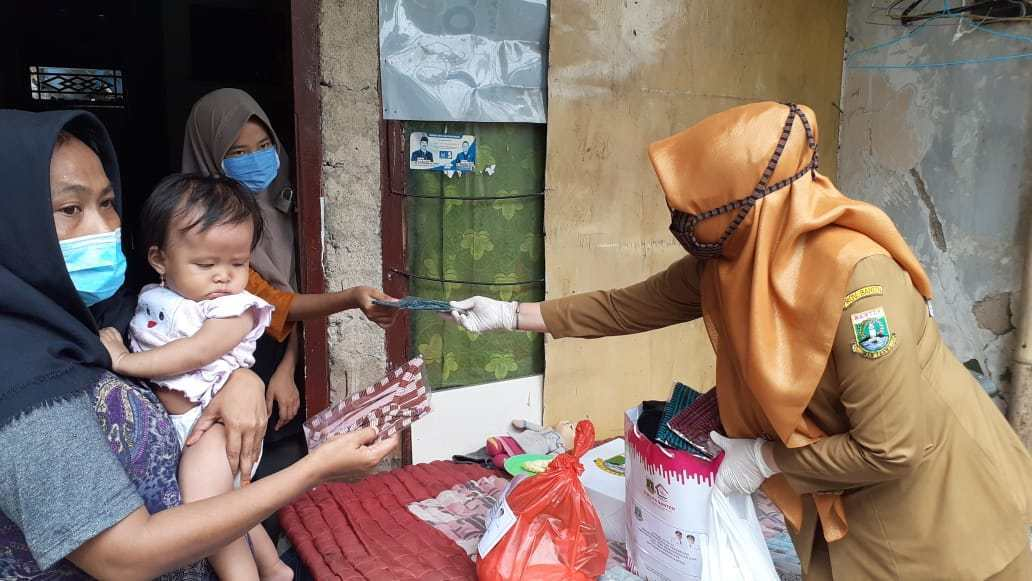Warga Kota Serang Tak Makan Dua Hari, Pemprov Banten Beri Bantuan