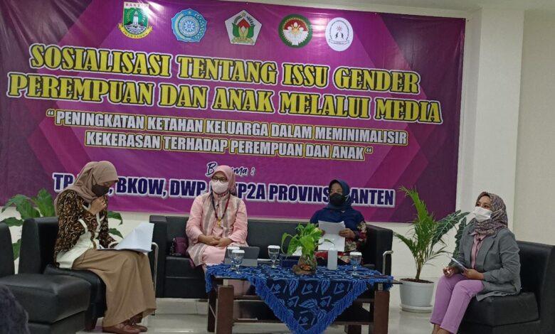 Talkshow Peningkatan Ketahanan Keluarga dalam Meminimalisir Kekerasan Terhadap Perempuan dan Anak