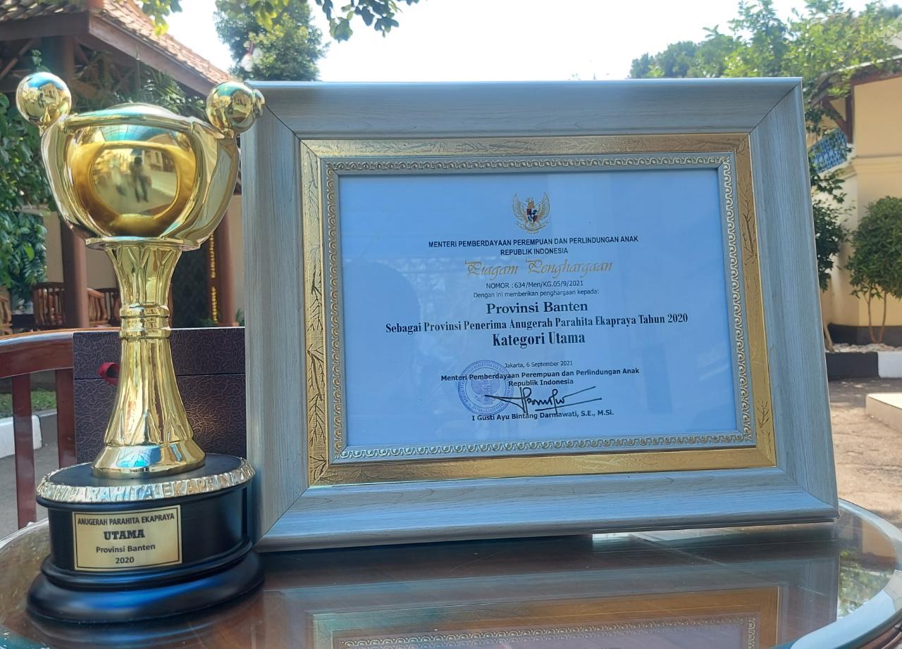 Pemprov Banten Raih Anugerah Parahita Ekapraya Kategori Utama 2020